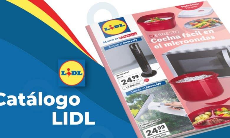 Folleto LIDL con ofertas en productos hasta el 11 de agosto