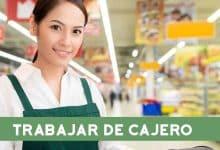 Trabajar de cajero en un supermercado