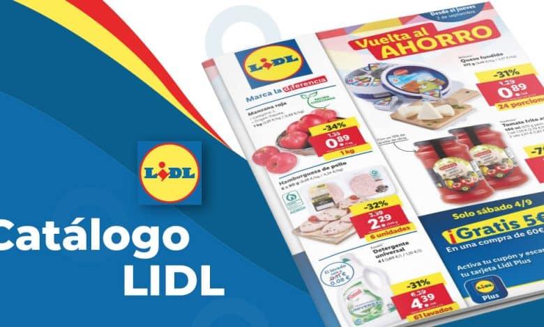 Ofertas alimentación en Lidl del 2 al 8 septiembre