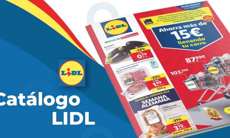 Folleto LIDL con ofertas de Alimentación del 9 al 15 septiembre