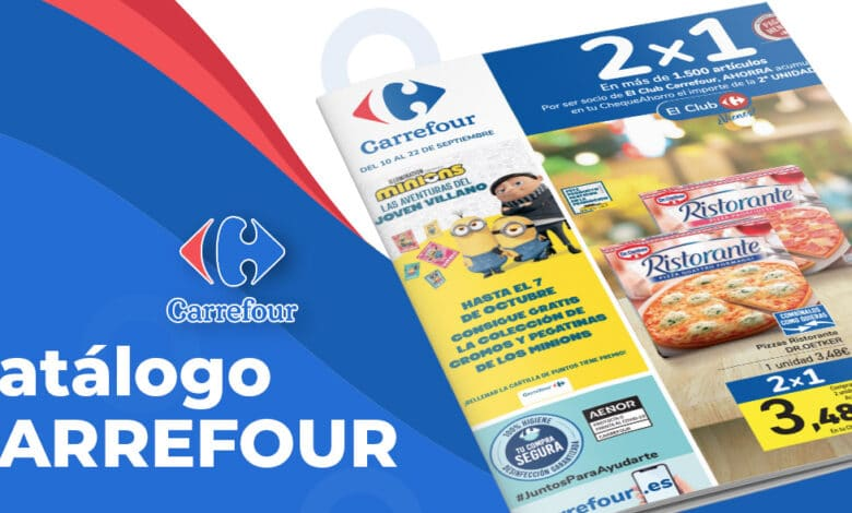 2x1 en Carrefour del 10 al 22 septiembre