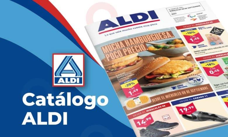Catálogo ALDI con ofertas del 8 al 14 septiembre