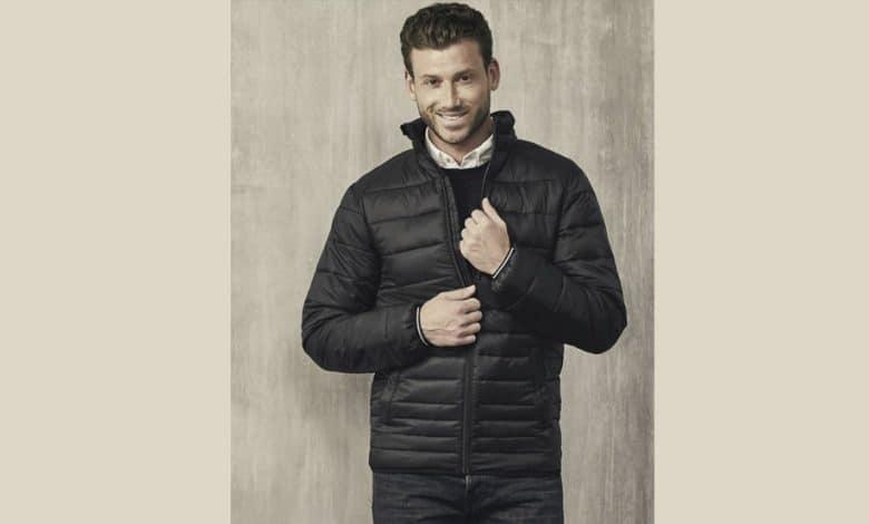 chaqueta acolchada ligera hombre aldi