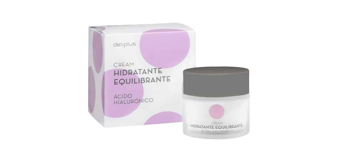 crema facial hidratante equilibrante acido hialuronico deliplus mercadona