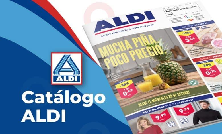 Folleto de ofertas ALDI online del 20 al 26 octubre