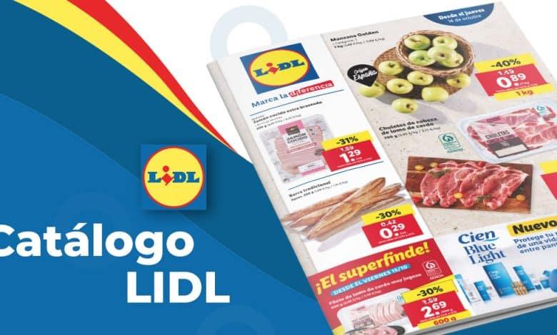Folleto online LIDL de alimentación hasta el 20 octubre