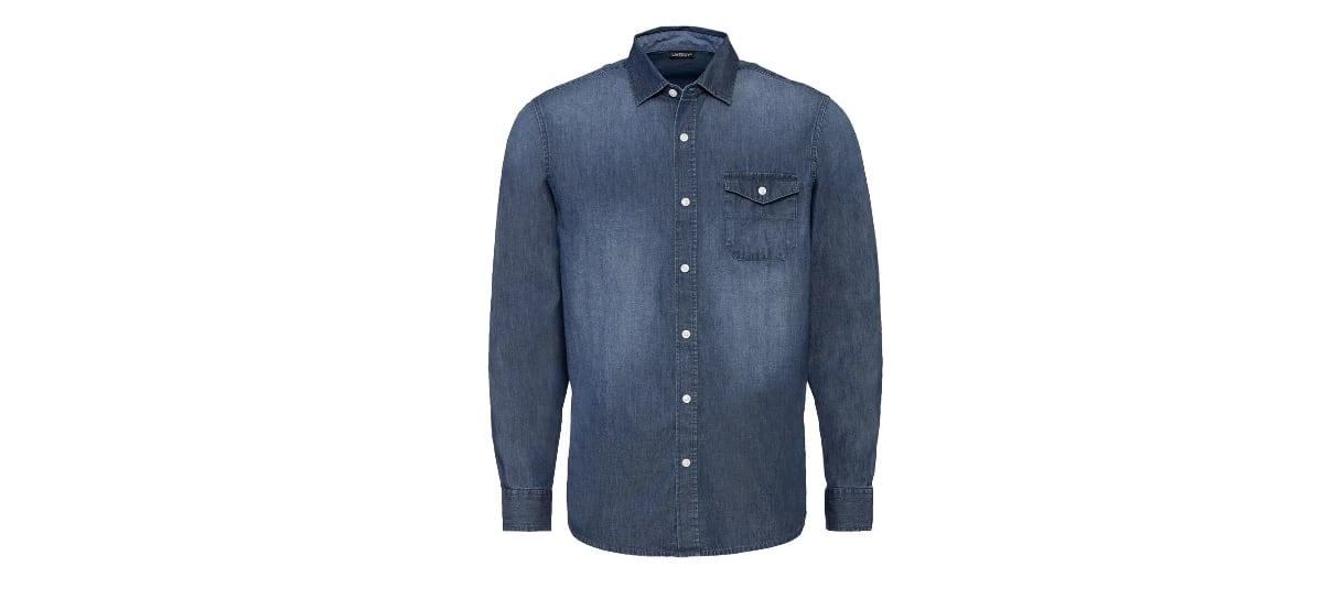 camisa vaquera para hombre lidl