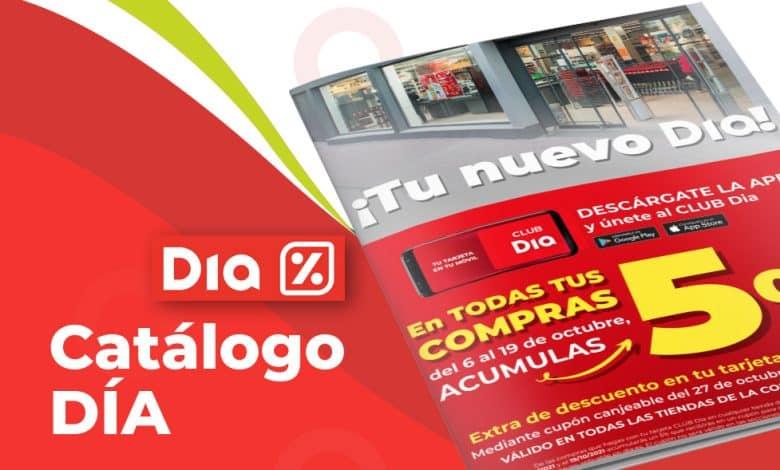 Catálogo online de DIA hasta el 12 de octubre