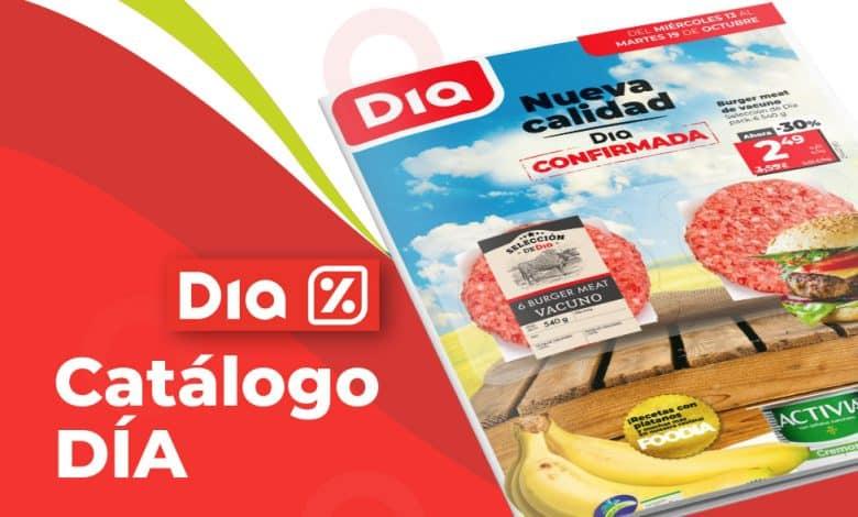 Catálogo semanal DIA hasta el 19 octubre