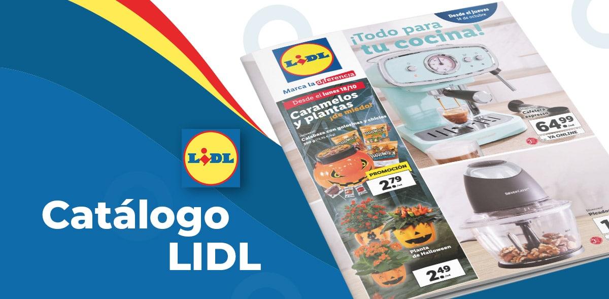 Folleto de artículos en Lidl del 14 al 20 de octubre