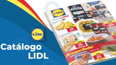Folleto semanal de alimentación en Lidl del 7 al 13 octubre