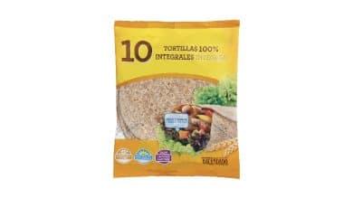 tortillas de trigo integrales hacendado mercadona